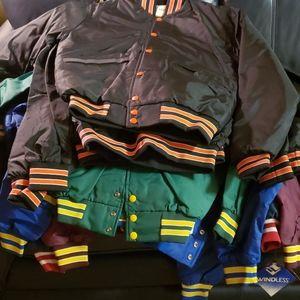 DIY Upcyle Cropped Varsity Jacket 80s 90s BUNDLE